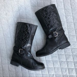 Coach Vera Leather Boots